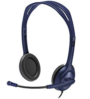 logitech-wired 3.5 mm headset-software