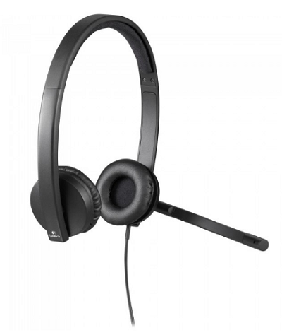 logitech-h570e stereo usb headset-software